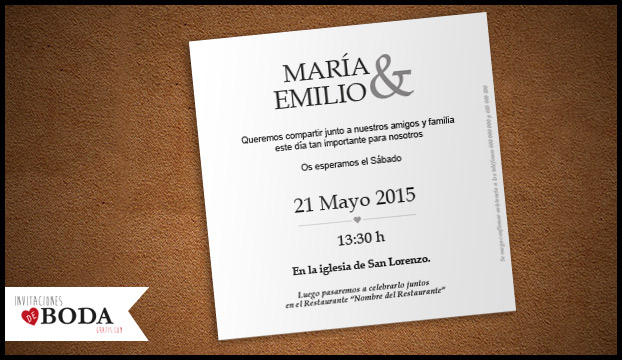 invitacin de boda original para descargar